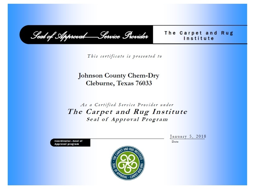 Carpet Cleaner Burleson Cleburne Keene Joshua